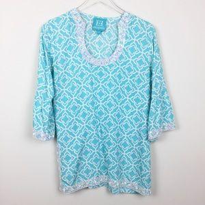 Escapada | Embellished Beaded Moroccan Style Tunic